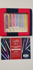 Knit Pro Zing Short Interchangeable Needle Set N047410 7 Pairs 2 Cables X 40cm