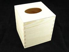 Plain legno quadrato di tessuto Decoupage CRAFT Home Decor