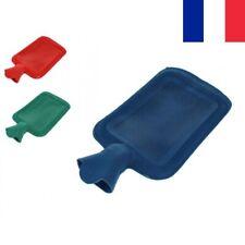 Grande Bouillotte en Caoutchouc 1,75 L Hiver Chaleur Couleur au Choix Bouillote