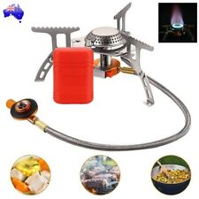Outdoor Picnic Gas Burner Portable Camping Hiking Mini Stove Cooker Butane BBQ