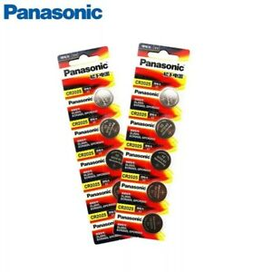 5pcs PANASONIC original brand new battery cr2025 3v button cell coin...