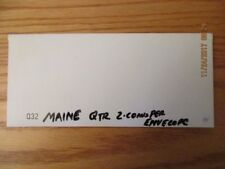 Q32 US MINT 2003 Maine State Quarter First Day Cover Sealed in Plastic