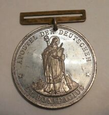 Rare Vintage Watch Fob - 4th German Catholic Day Sept 22-25 1890 - Pittsburgh Pa