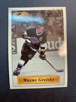 1996 NHLPA Super Sticker #57 Wayne Gretzky LA Kings