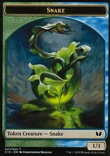 4x Snake / Saproling Token - Version 1 | NM/M | Commander 2015 | Magic MTG