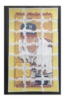 Vintage 1989 Donruss Complete 63-piece Puzzle WARREN SPAHN Braves P HOF NrMt/Mt