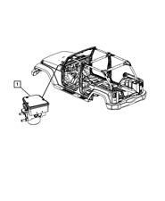 Genuine MOPAR Anti-Lock Brake System Module 68067458AA