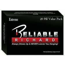 **All New Reliable Richard Extreme Sex Pill - Male Sexual Enhancer, 20 Pills