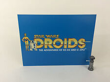 """brand new Star Wars droids large logo backdrop For Display 16"""" x 12"""""""
