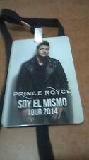 """PRINCE ROYCE BADGE SOY EL MISMO TOUR 2014   3""""  X  5"""""""