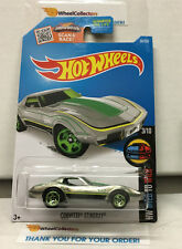 Corvette Stingray #58 * ZAMAC * Hot Wheels 2016 * N173