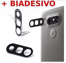 Lente BACK fotocamera vetro quadro+ BIADESIVO CAMERA LENS GLASS x LG H850 G5