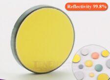 Si CO2 láser Espejo de diámetro 20mm máquina de corte de Lente Reflector reflectante de silicio