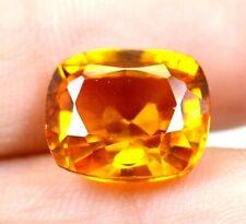 AAA Ceylon 9.25Ct Natural Yellow Sapphire Cushion Loose Gemstone Certified B1695