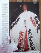 DAVID BOWIE in crazy japanese gear magazine PHOTO/ Poster/clipping 11x8 inches