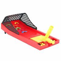 Desktop Mini Pinball Machine Board Game Arcade Score Activity Kids Toy Set