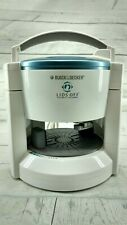 Black and Decker Lids Off Jar Opener Automatic Electric Model Jw200 White