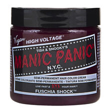 Fuschia Shock Purple Manic Panic Vegan 4 Oz Hair Dye Color Fuchsia