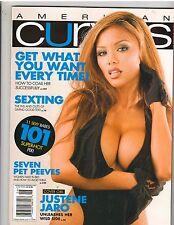 AMERICAN CURVES #52 bikini lingerie fitness magazine/JUSTENE JARO 6-09