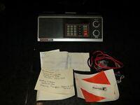 Vintage Bearcat 210XL BC210-1 Scanner Radio Police Fire Ham Weather Works Well