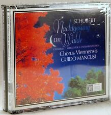 SEALED MHS Schubert WORKS FOR MALE CHORUS Mancusi (3 CDs, 1997) 534645K