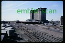 Original Slide, PC Penn Central Michigan Central Station in Detroit, 1972