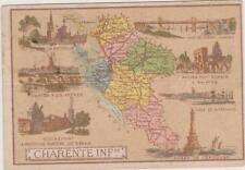 CHROMO PUBLICITAIRE CHOCOLAT DELESPAUL-HAVEZ/DEPARTEMENT CHARENTE INFERIEURE/