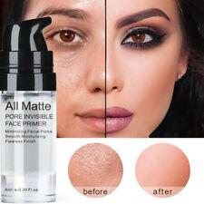 Brightening Skin Face Primer Invisible Pore Base Makeup Cream Foundation Gel
