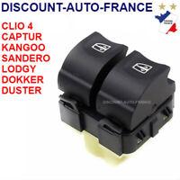 Bouton de leve vitre avant gauche pour Clio 4 Captur Duster Zoe  = 254118044R