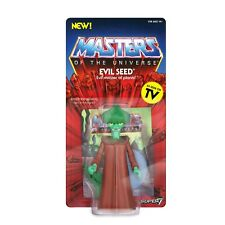 EVIL SEED FIGURINE MASTERS OF THE UNIVERSE VINTAGE COLLECTION SERIES 4 SUPER7
