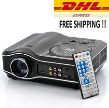 DVD Movie Projector with DVD Player Built In DVD Player Projector Combo