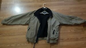 PORT AUTHORITY CHALLENGER JACKET - SIZE 2XL - BEIGE - USED