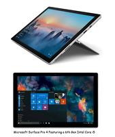 "Microsoft Surface Pro 4 12.3"" Intel Core i5 256GB SSD Windows 10 8GB RAM 2.4GHz"
