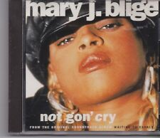 Mary J Blige-Not Gon Cry promo cd single