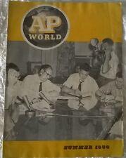 AP WORLD Magazine Summer 1956 Japanese Table Tennis Nixon Truman Edgar Bergen
