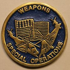 Special Operations Weapons Tactics Pararescue / PJ Air Force Challenge Coin
