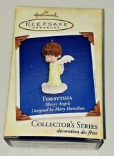 New, Forsythia Marys Angels Hallmark Ornament, Collector Series #18 w/ Card