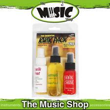 Kwik Pack - The Essential Guitar Care Kit - Kwikfret , Lemoil, Polish & Cloth