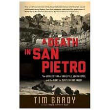A DEATH IN SAN PIETRO - TIM BRADY (US Army in Italian Campaign, WWII) Hardback