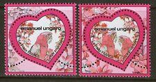 TIMBRES 4327-4328 NEUF XX LUXE - COEURS DE EMANUEL UNGARO - SAINT VALENTIN 2009