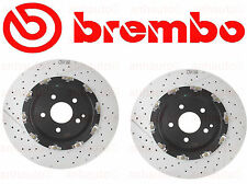 Set of 2 BREMBO Front Brake Rotor Mercedes CLK63&SLK55 with Performance Package