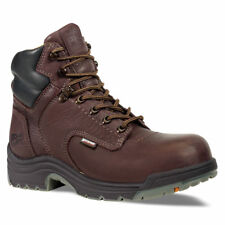 """MEN'S Timberland Pro 6"""" TB026078242 TITAN SAFETY TOE H20 WORK BOOTS"""