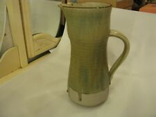 Rare 1930's Vera Tollow Signed Studio Pottery Large Pitcher Drip Ware Design UK