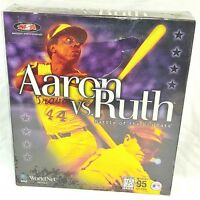 Aaron vs. Ruth Battle of the Big Bats PC Baseball Game Big Box Win. 95 read