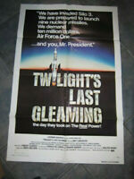 TWILIGHT'S LAST GLEAMING 1sh '77 Robert Aldrich,  nuclear missile