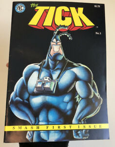 The Tick #1 NEC First Print - excellent condition - New England Comics Press