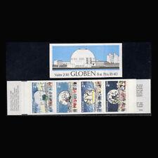 Sweden, Sc #1732a, MNH, 1989, Booklet, Globe Arena, Ice Hockey, Concert, CL057F