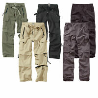 SURPLUS Raw Vintage™ ★ Herren Trekking / Quickdry Trousers Zip Off Hose / Shorts