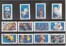 serie france 2019 mon fantastique carnet de timbres 12 timbres AA obliteres