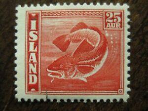 Island Mi.-Nr. 216B ungebr. (-d3)